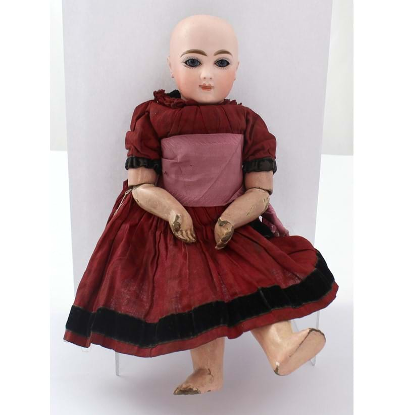 ANDRE THUILLIER; a late 19th century French doll.