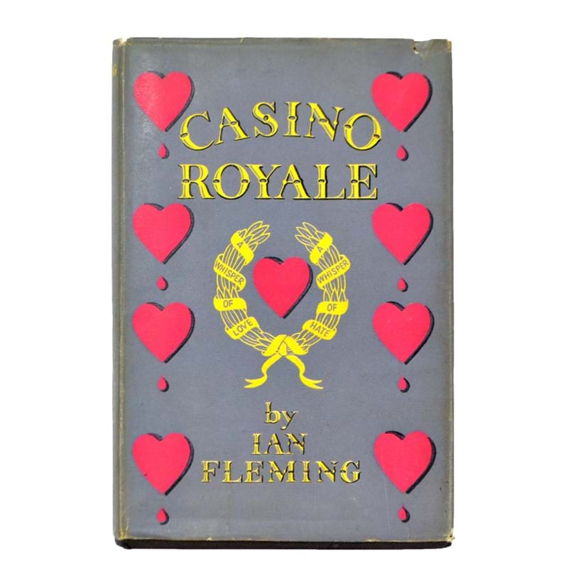 FLEMING, IAN; Casino Royale, first edition, first impression, published by Jonathan Cape, London 1953, with dust jacket.
