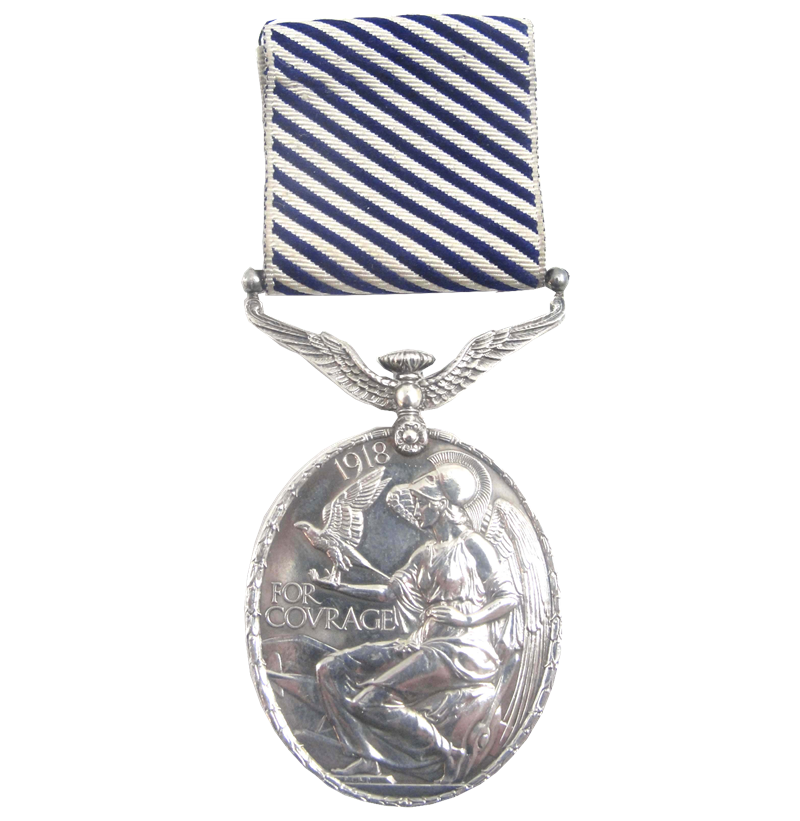 A Distinguished Flying Medal awarded to Sgt Norman Bailey.