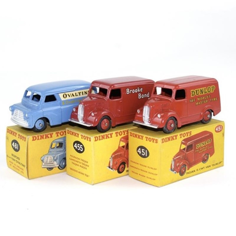 The Joy in collecting Dinky and Corgi Toys