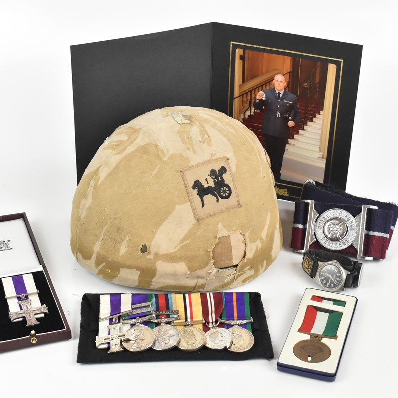 The Battle of Al-Waki, Iraq: An Exceptional Military Cross Medal Group and Archive